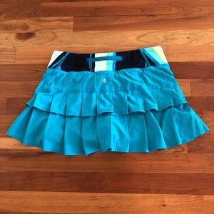 Lululemon Tiered Ruffle Skirt